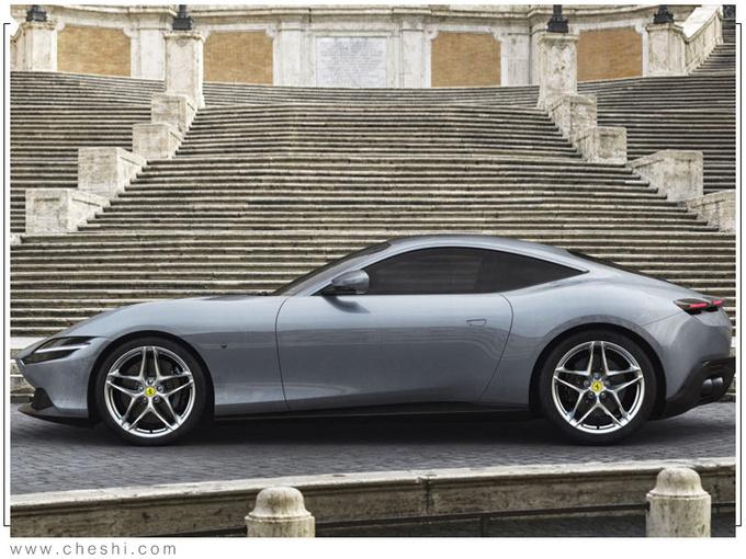 法拉利Roma预计明年上市开售:搭载3.9T引擎 百公里加速3.4秒
