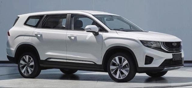 吉利全新中型SUV即将上市:提供1.5T和1.8T引擎 尺寸超汉兰达