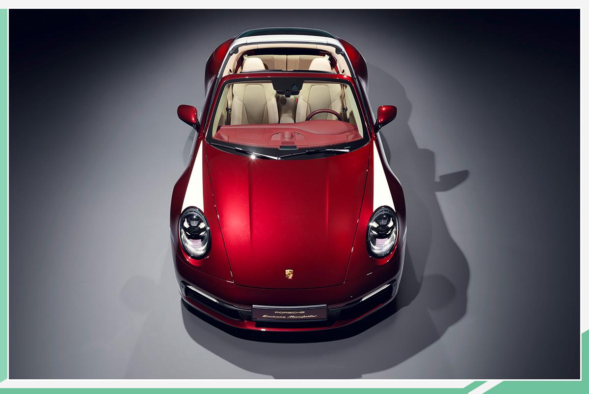 保时捷911 Targa 4S推经典重现特别版:百公里加速3.6秒 2021年第一季度交付