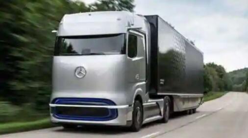 戴姆勒推出氢动力概念卡车GenH2 计划2025年后开始量产