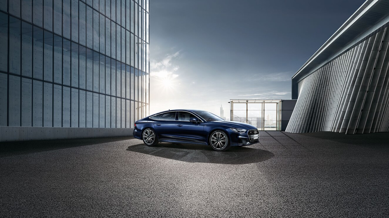 新款奥迪A7正式上市:搭载2.0T引擎 售价57.38万元起