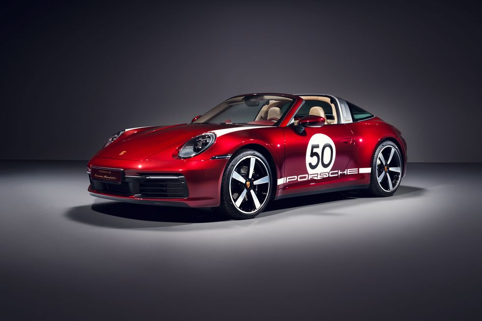 保时捷911 Targa4S特别版发布:搭载3.0T引擎 限量992辆