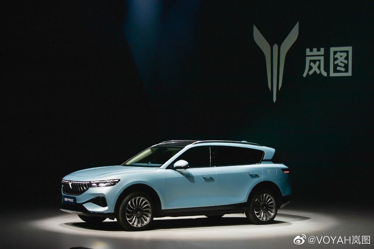 东风旗下岚图FREE发布 正式售价将在2021年上海车展前发布