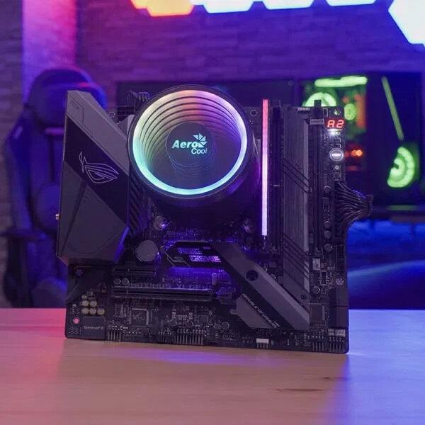 AeroCool发布新款CPU散热器:拥有传统水冷头外观设