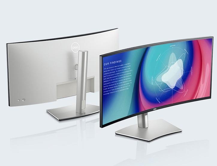 戴尔上架U3421WE曲面带鱼屏显示器 USB-C接口可为笔记本提供90W供电