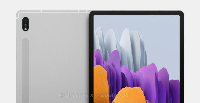 三星明年更新三款Tab S系列平板电脑 三星Galaxy Tab S8首批渲染图曝光