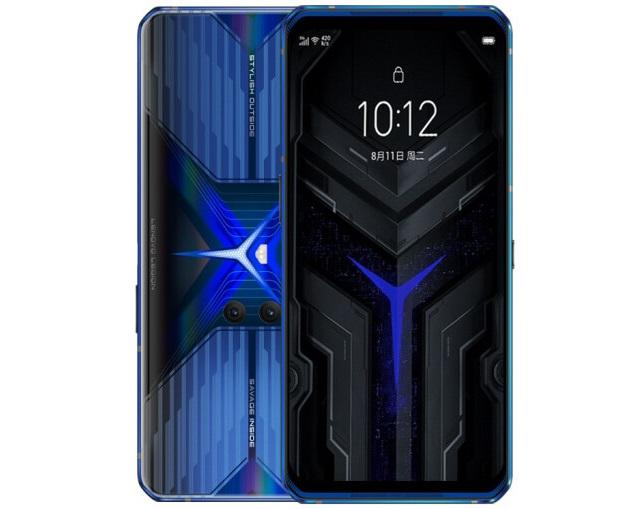联想拯救者电竞手机Pro炫蓝冰刃版本上架 12GB+128GB售价3899元