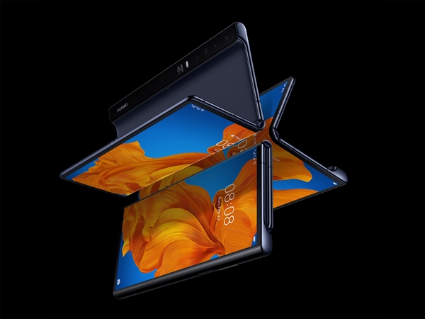 華為Mate X2折疊屏手機被曝延期到2021年推出 背部多達六顆攝像頭