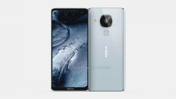 Nokia 7.3高清CAD渲染圖曝光:提供白色顏色可選 擁有USB Type-C端口