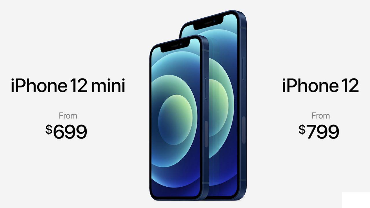 iPhone 12苹果发布会带来四款搭载5G新手机 iPhone 12 Mini售价最便宜