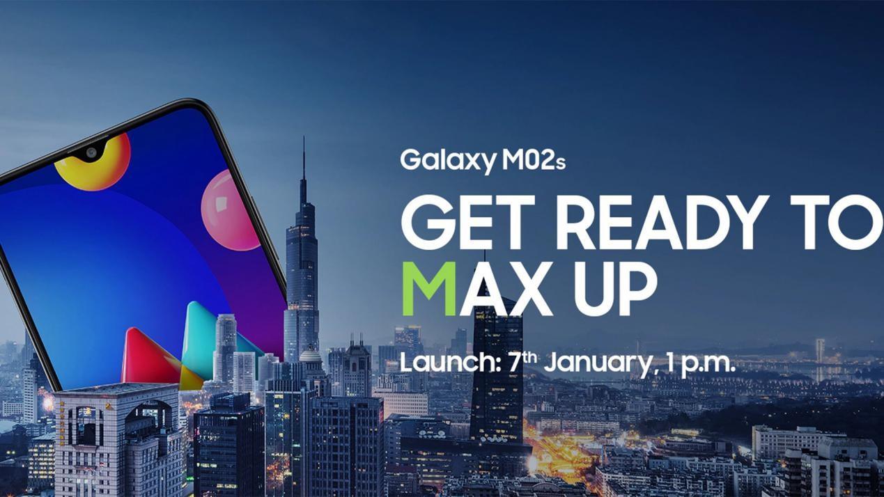 三星新机Galaxy M02s曝光: 拥有5000mAh大电池 配备后置三摄