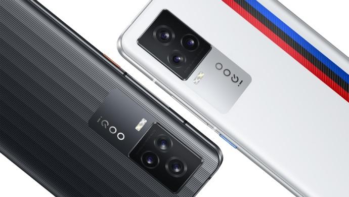 iQOO 7官宣两款新配色:背面纹理不同 颜色也有差异