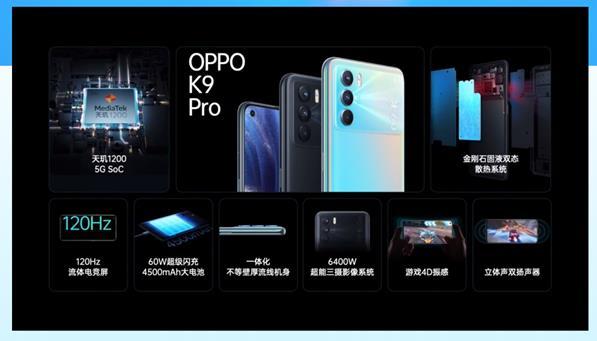 OPPO在线上举行新品发布会 而主角正式K9系列