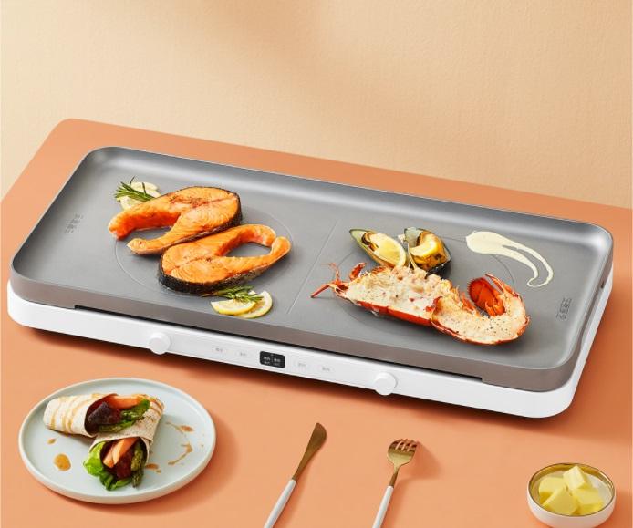 米家双口电磁炉将于12月16日开启众筹 支持米家App菜谱同步