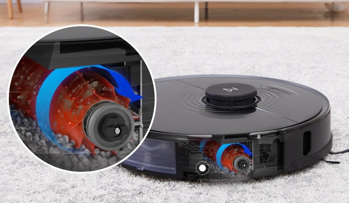石头扫地机器人S7发布:电池电量为5200mAh 搭载超声波地毯识别技术
