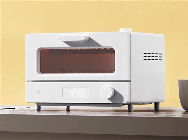 米家智能蒸汽小烤箱12L本周三来了 号称复刻五星级厨艺