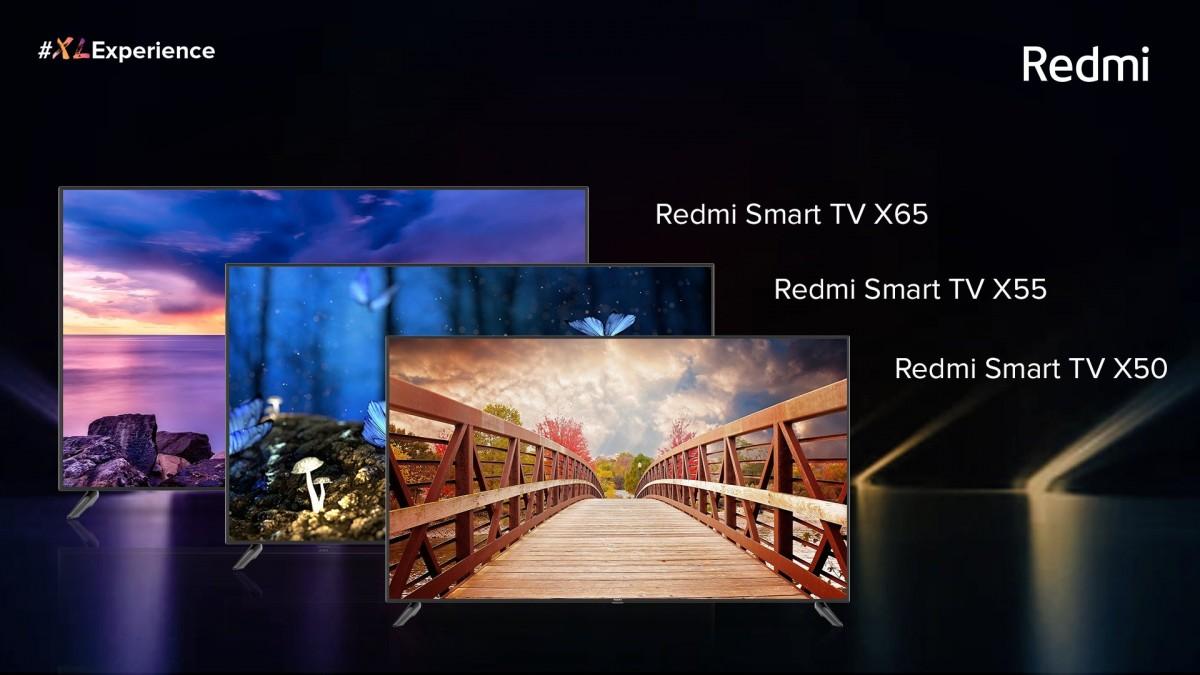Redmi电视X系列在印度推出 全面采用相同规格