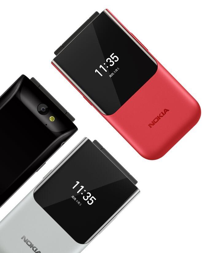 诺基亚2720双屏翻盖手机明日开售:续航待机28天 价格为599元