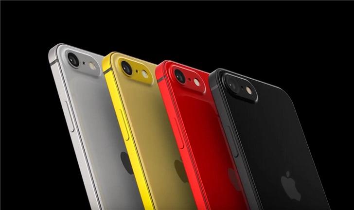 疑似苹果iPhone SE2手机最新渲染图曝光 将在2020年第一季度发布