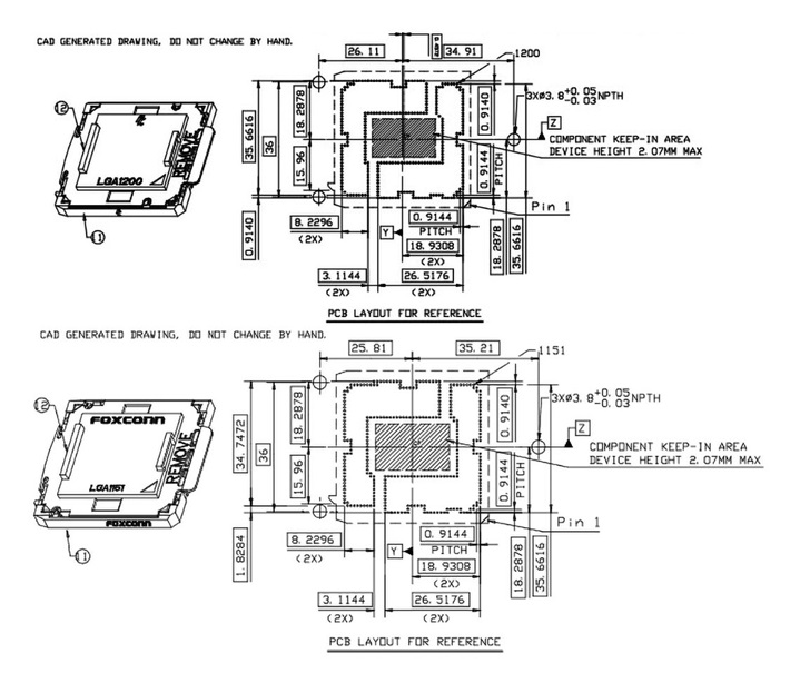 英特尔400系主板采用LGA1200插槽 将在2020年第二季度推出