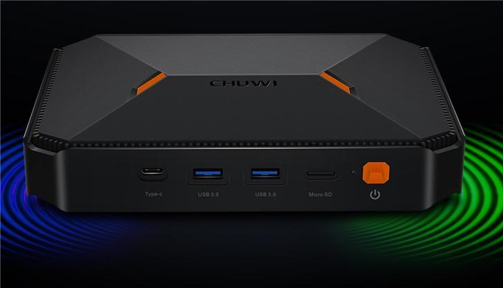 驰为发布HeroBox迷你主机:搭载四核赛扬处理器 内存容量为8G